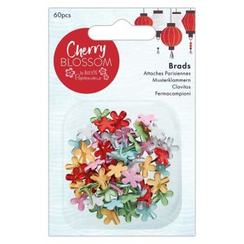 Papermania Cherry Blossom Brads (60pcs)
