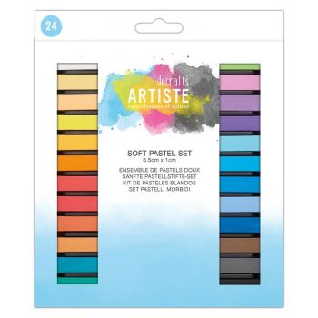 Docrafts Soft Pastel Set (24pk)
