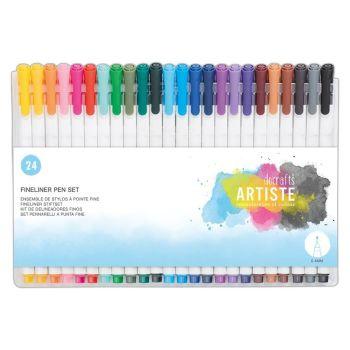 Docrafts Fine Liner Pen Set (24pk)