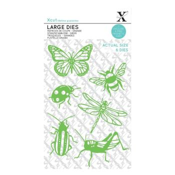 Xcut Large Dies Insects