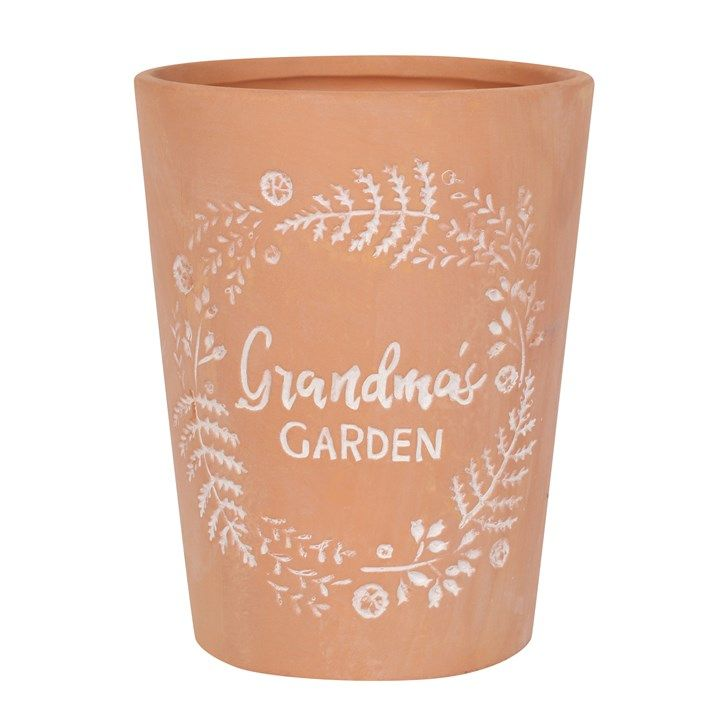 Grandma's Garden Terracota Plant Pot