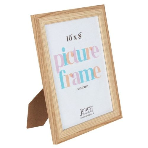 10X8 Light Wood Effect Photo Frame