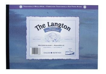 Daler Rowney Langton Gummed Pad Rough A2