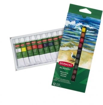 Academy Watercolour Paints 12 x 12ml