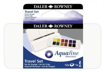 Daler Rowney Aquafine New Travel Set