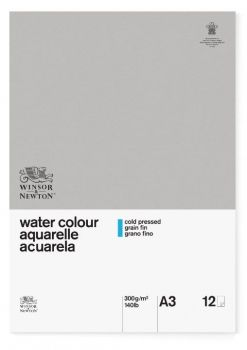 Winsor and Newton A3 Glued Classic 12sh CP Watercolour pad