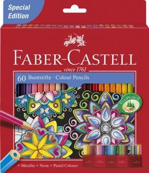 Faber Castell Creative Set 60 Colour Pencils