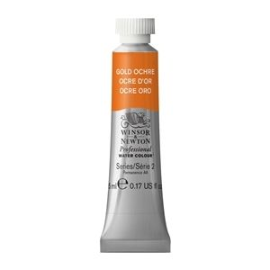 Winsor and Newton Artist Watercolour 5ml Gold Ochre