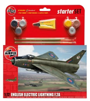 AIRFIX A55305 ENGLISH ELECTRIC LIGHTNING F2A GIFT SET