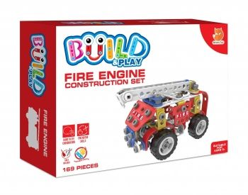 Build and Play Fire Engine Construction Set