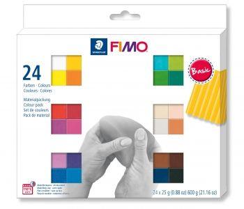 FIMO Soft 24 Half Block Set