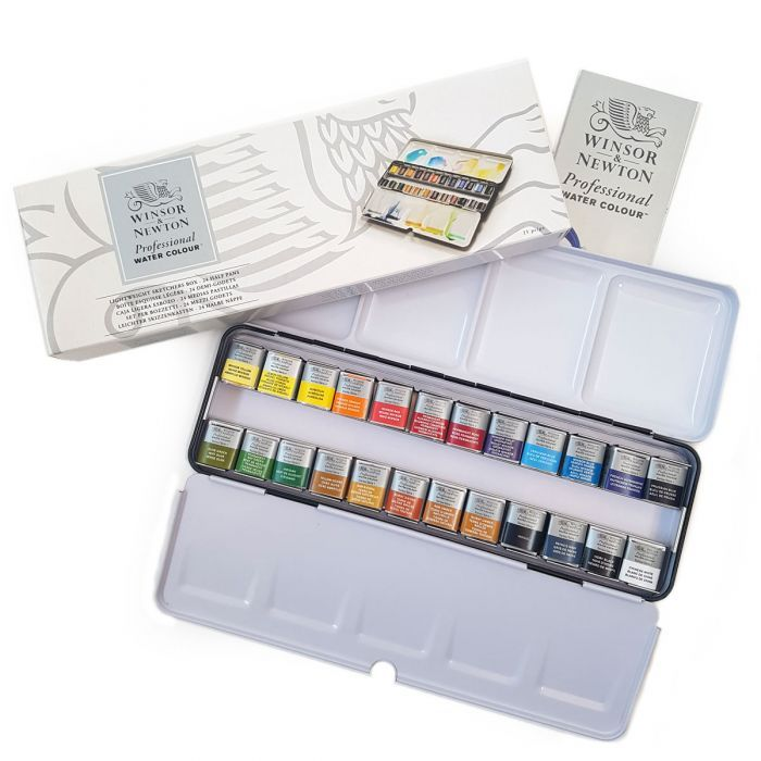 WN Pro Artists Watercolour Half Pans