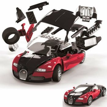 Quick build Bugatti Veyron 16.4 black and red