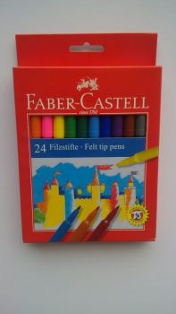 Faber Castell 24 Fibre Tipped Pens