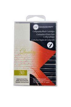 Mauscript 30 Black Ink Cartridges