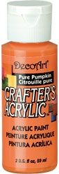 Deco Art 59ml Crafters Acrylic - Pure Pumpkin