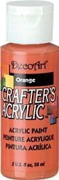Deco Art 59ml Crafters Acrylic - Orange