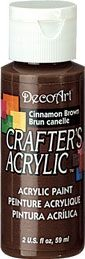 Cinnamon Brown - Deco Art 59ml Crafters Acrylic -