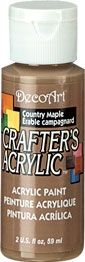 Country Maple - Deco Art 59ml Crafters Acrylic -