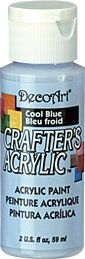 Cool Blue - Deco Art 59ml Crafters Acrylic -