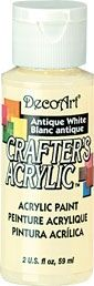 Antique white - Deco Art 59ml Crafters Acrylic