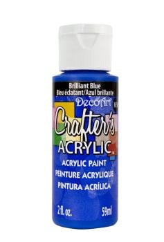 Brilliant Blue - Deco Art 59ml Crafters Acrylic -