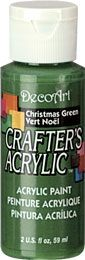 Christmas Green - Deco Art 59ml Crafters Acrylic -