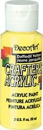 Daffodil Yellow - Deco Art 59ml Crafters Acrylic -