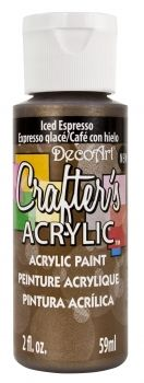 Deco Art 59ml Crafters Acrylic - iced espresso