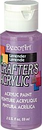 Deco Art 59ml Crafters Acrylic - Lavender