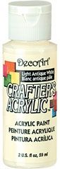 Deco Art 59ml Crafters Acrylic - Light Antique white