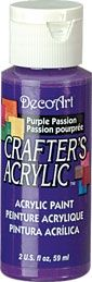 Deco Art 59ml Crafters Acrylic - Purple Passion