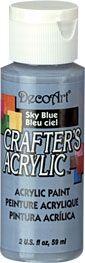 Deco Art 59ml Crafters Acrylic - sky blue