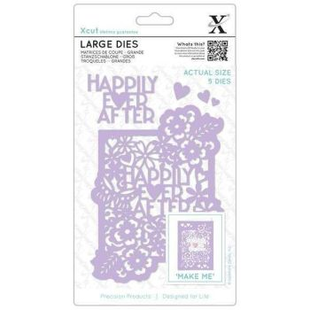 XCUT LARGE DIE SET HAPPILY EVER AFTER | SET OF 5