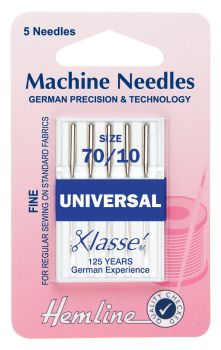 Machine Needles - Universal - 70/10 size