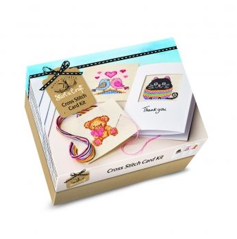 HOUSE OF CRAFTS CROSS STITCH CARDS KIT