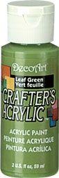Deco Art 59ml Crafters Acrylic - Leaf Green