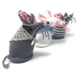 Mary Mouse & Friends Knitting Kit - Craft Kit Company