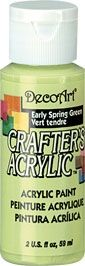 Early Spring Green - Deco Art 59ml Crafters Acrylic -