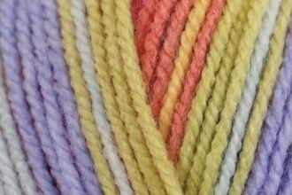 Stylecraft Yarn Wondersoft Merry Go Round DK - Pastel Rainbow