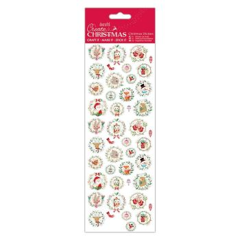 CHRISTMAS STICKERS - FESTIVE CHARACTERS