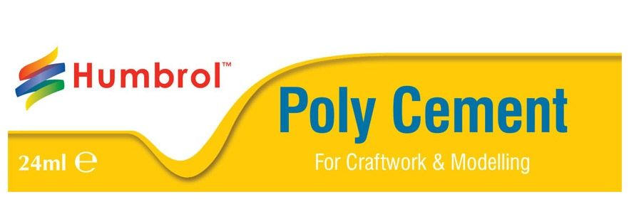 Polystyrene cement 24ml by Humbrol