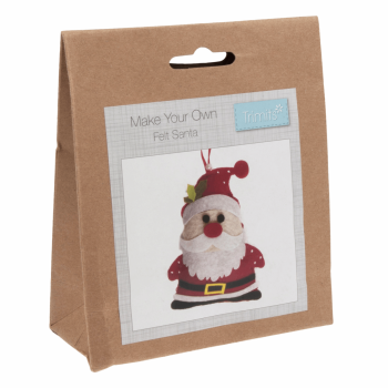 Felt Decoration Kit: Christmas: Santa