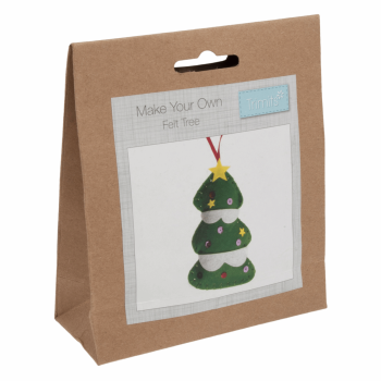 Felt Decoration Kit: Christmas: Tree
