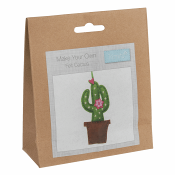 Felt Decoration Kit: Cactus