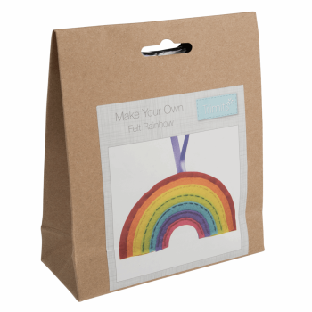 Felt Decoration Kit: Rainbow