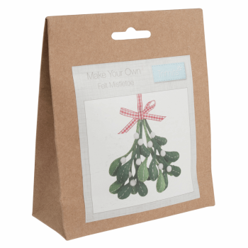 Felt Decoration Kit: Christmas: Mistletoe