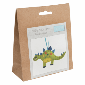 Felt Decoration Kit: Dinosaur
