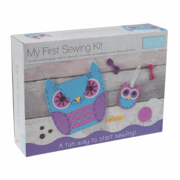 My First Sewing Kit: Owl Handbag & Charm