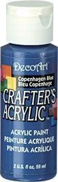 Copenhagen Blue - Deco Art 59ml Crafters Acrylic -
